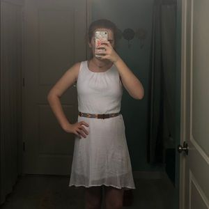 Other - Girls white high-low dress.